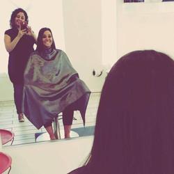 Haircut Behind the Scenes