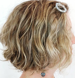 Haircut, Hair color and Style