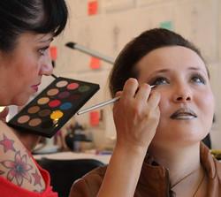 Makeup Behind the Scenes