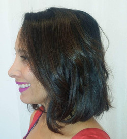 Hair Color, Cut and Lip Color