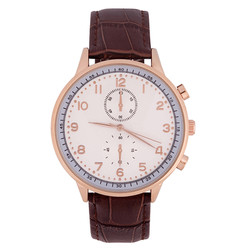 Brown Leder Uhr