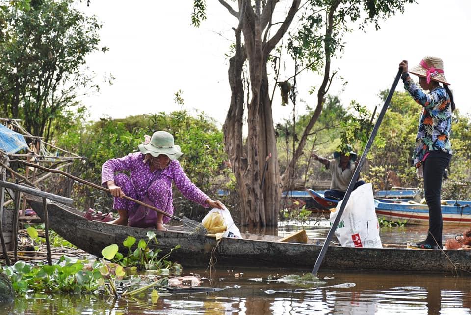 Siem Reap & Initiative : Keo Por, village flottant sans plastique