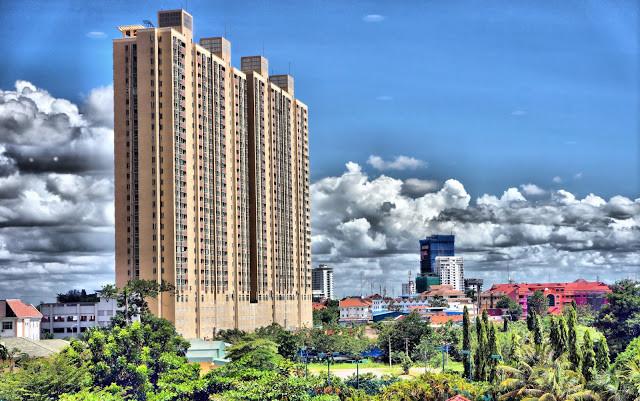 Complexe immobilier Rose Garden à Phnom Penh