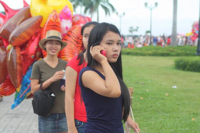 Fête des Eaux 2014 à Phnom Penh, sur les quais