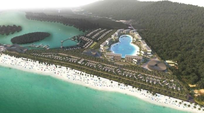 Gigantesque projet à Ream Beach