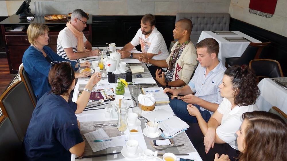 Les organisateurs de la Semaine Française de Siem Reap en réunion