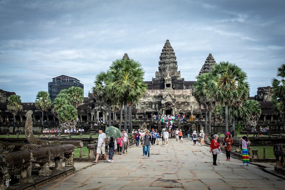 393293 visiteurs étrangers à Angkor en 2020