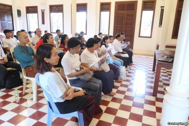 Festival de littérature khmère à Siem Reap en 2017