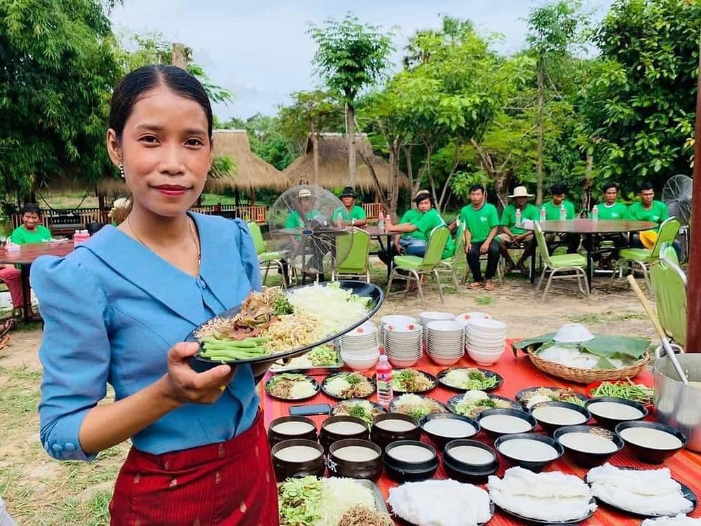 Les fameuses nouilles khmères