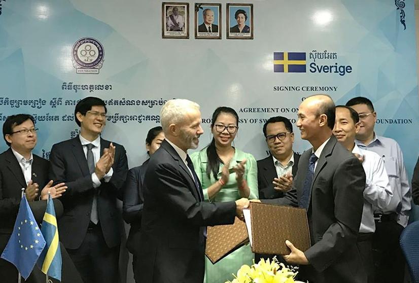 La Suède verse 268 000 dollars au Centre du Conseil d'Arbitrage