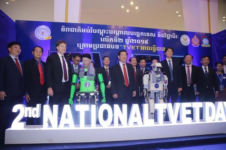 Journée nationale de l'enseignement et de la formation technique et professionnelle au Centre de conférence et d'exposition Koh Pich