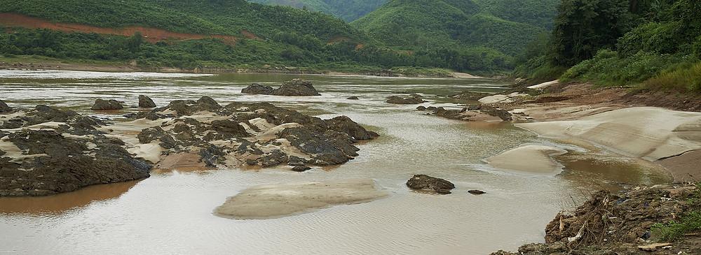 Le Mékong. Photo par la Mekong River Commission