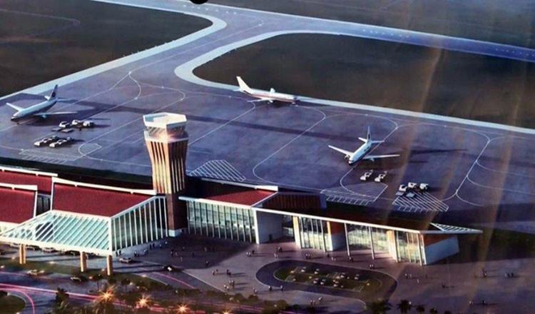Illustration du nouvel aéroport