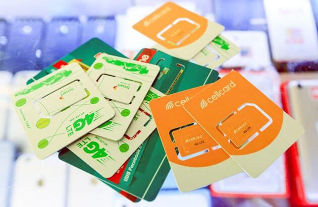 Cambodge & Télécommunications : Baisse des abonnés Internet et des ventes de cartes SIM