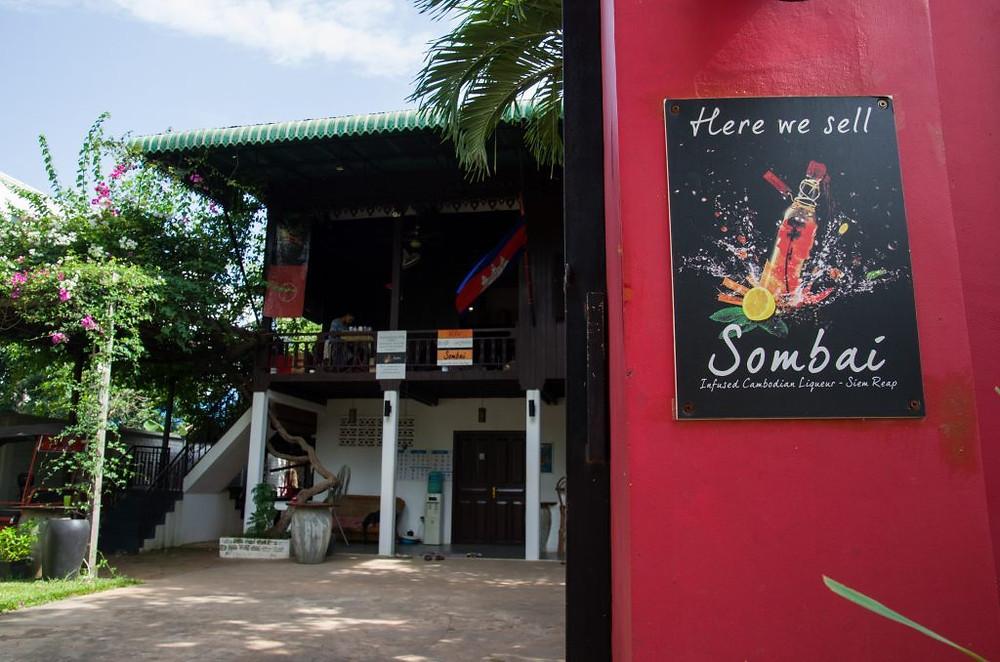 Les locaux de Sombai à Siem Reap