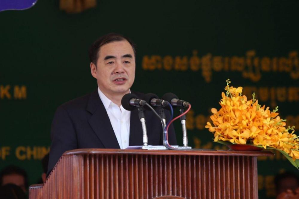 Le vice-ministre chinois des Affaires étrangères, Kong Xuanyou