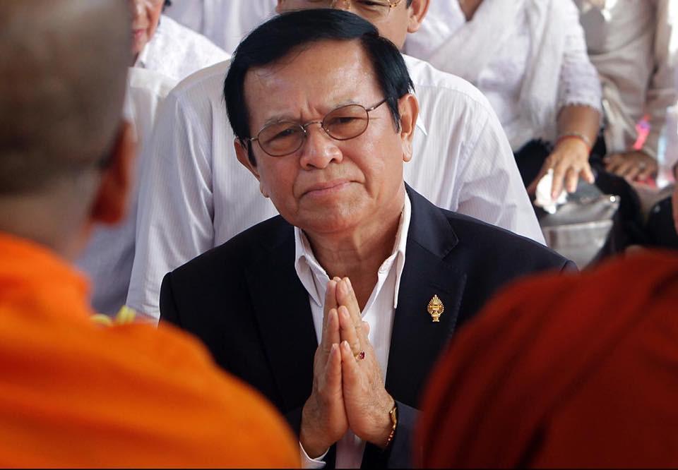 l'ancien chef de l'opposition, Kem Sokha