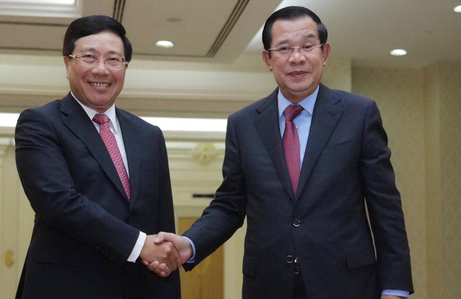 Le Premier ministre Hun Sen exhorte la Commission mixte Cambodge-Vietnam à résoudre les problèmes frontaliers