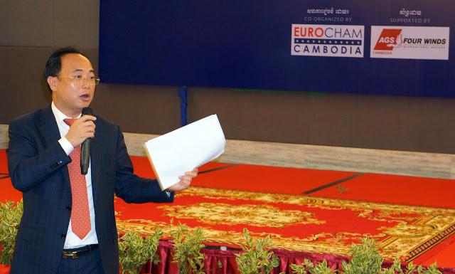 Kith Meng, Président de la Chambre de Commerce Cambodgienne