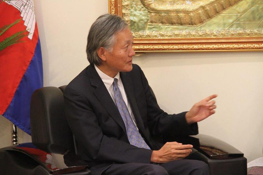 S.E. Hidehisa Horinouchi achèvera son mandat d'ambassadeur du Japon au Cambodge dans quelques semaines