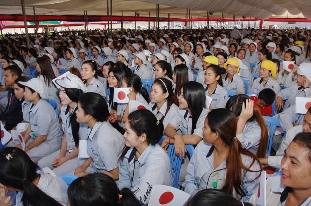 Minebea célèbre ses cinq ans de présence au Cambodge