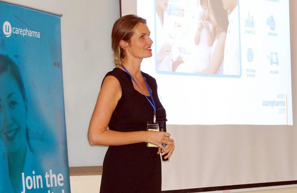 Claire Poriel - Directrice Générale de Ucarepharma