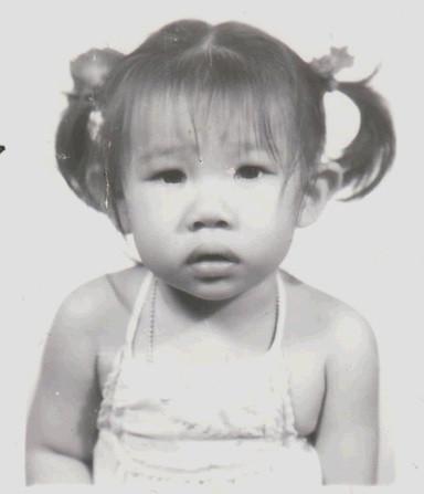 Lana Chhor enfant, photographie fournie
