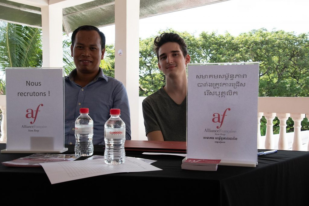 Un forum de l'emploi, premier du genre à Siem Reap