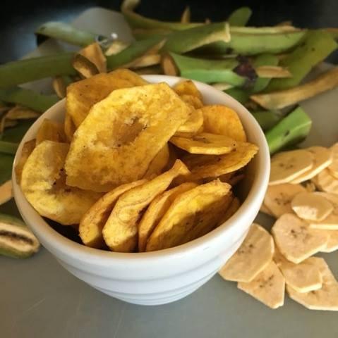Chips de banane cambodgiennes