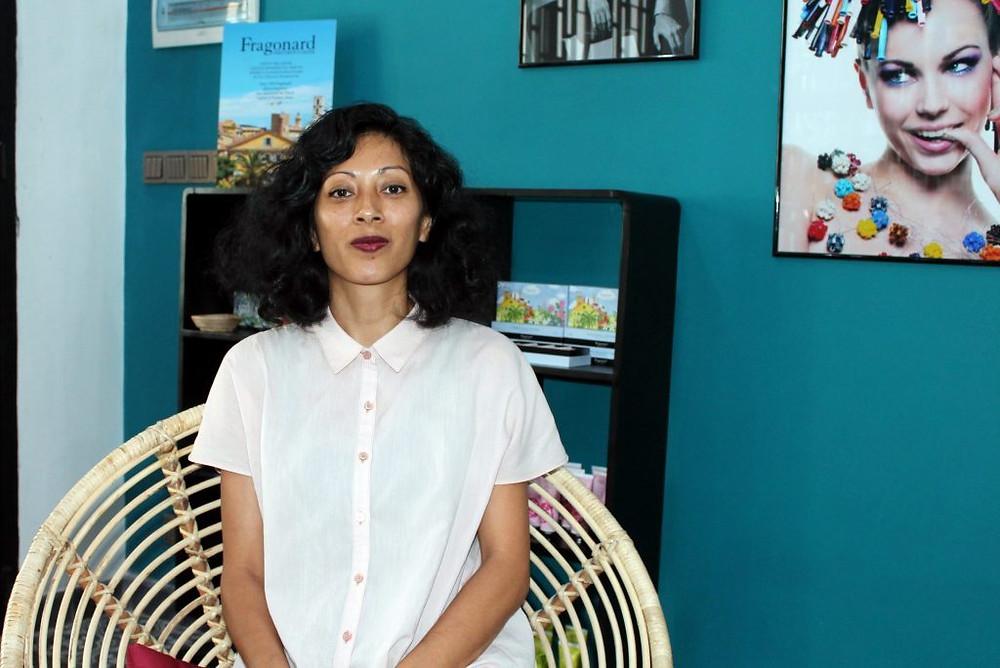 """Charya SAM, responsable de la formation aux métiers de la coiffure chez """"Happy Chandara"""""""
