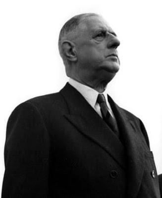 Le général de Gaulle. Photographie Wiki Commons