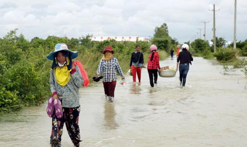 L'UE débloque 470000 $ pour les victimes des inondations