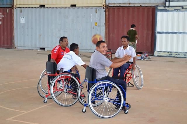 Un centre de handisports ouvre ses portes à Siem Reap. Photographie Soulcial Trust