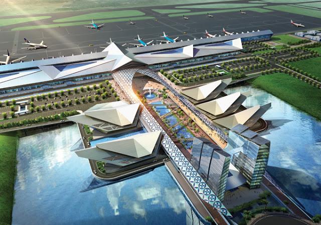 Projet coréen d'aéroport à Siem Reap en 2010