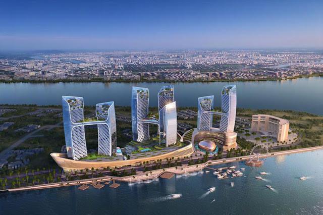 Nouveau complexe à Chroy Changva. Photo fournie Sokha Hotel Co.Ltd