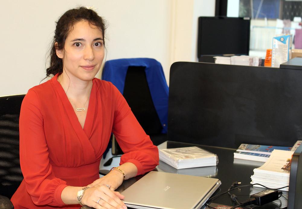 Cécile Eap Berg, créatrice de la galerie Sra'Art