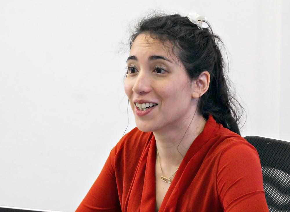 Cécile, entrepreneure passionnée d'art et d'artistes