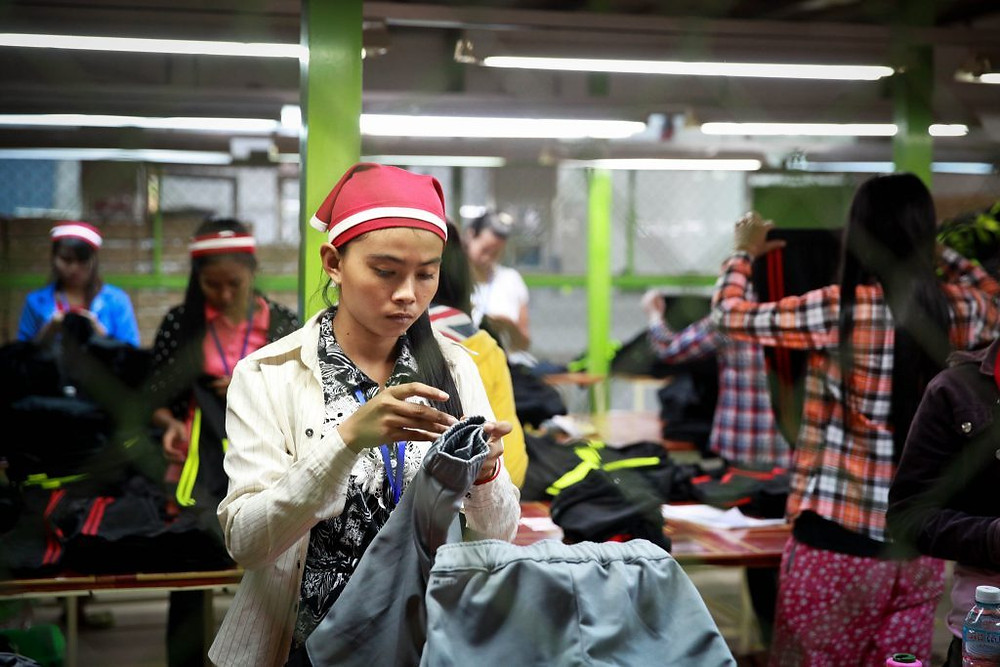 L'UE reste le plus grand débouché pour l'industrie du vêtement et de la chaussure au Cambodge, représentant environ 40% de toutes les exportations