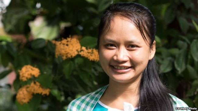 Mme Heng Samnang, coordinatrice de programme de la CLA