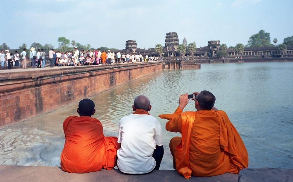 Angkor Wat : 28% de recettes en plus et augmentation de 11% des visiteurs Photographie par TCDavis (cc)