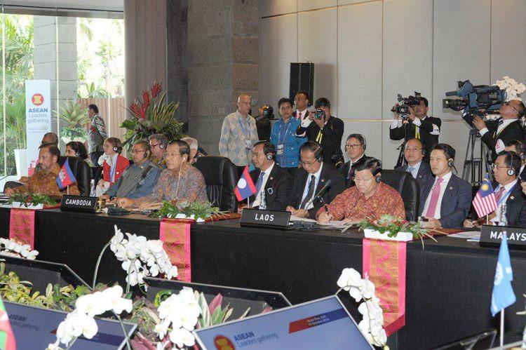 Le Premier ministre à la Rencontre des dirigeants de l'ASEAN à Bali