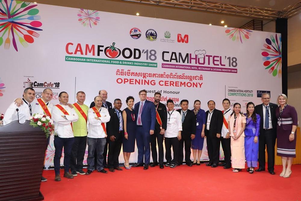 Koh Pich : Ouverture de CAMFOOD et CAMHOTEL 2018