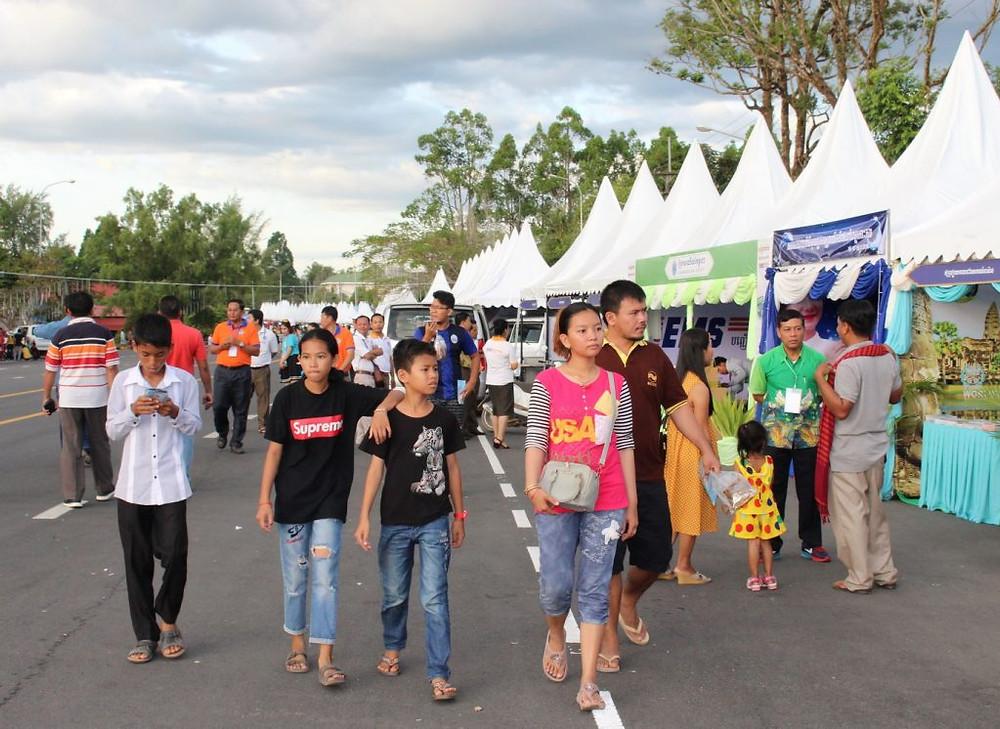 Dès le vendredi, le festival a attiré environ 60 000 visiteurs