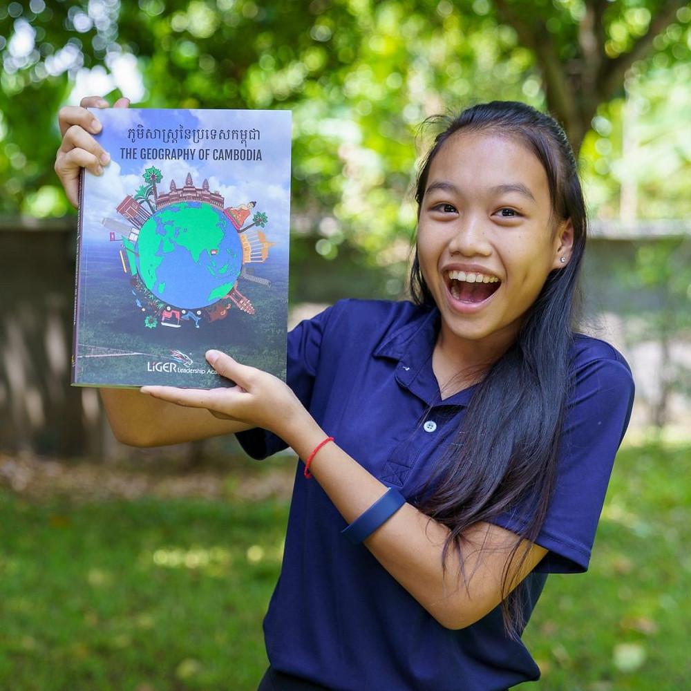 Liger Leadership Academy : Lancement de l'ouvrage « La Géographie du Cambodge »