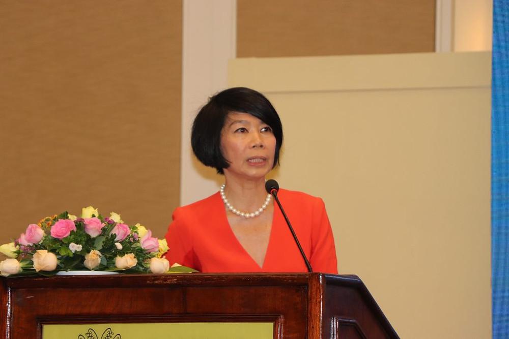 Pauline Tamesis coordinatrice résidente des Nations Unies