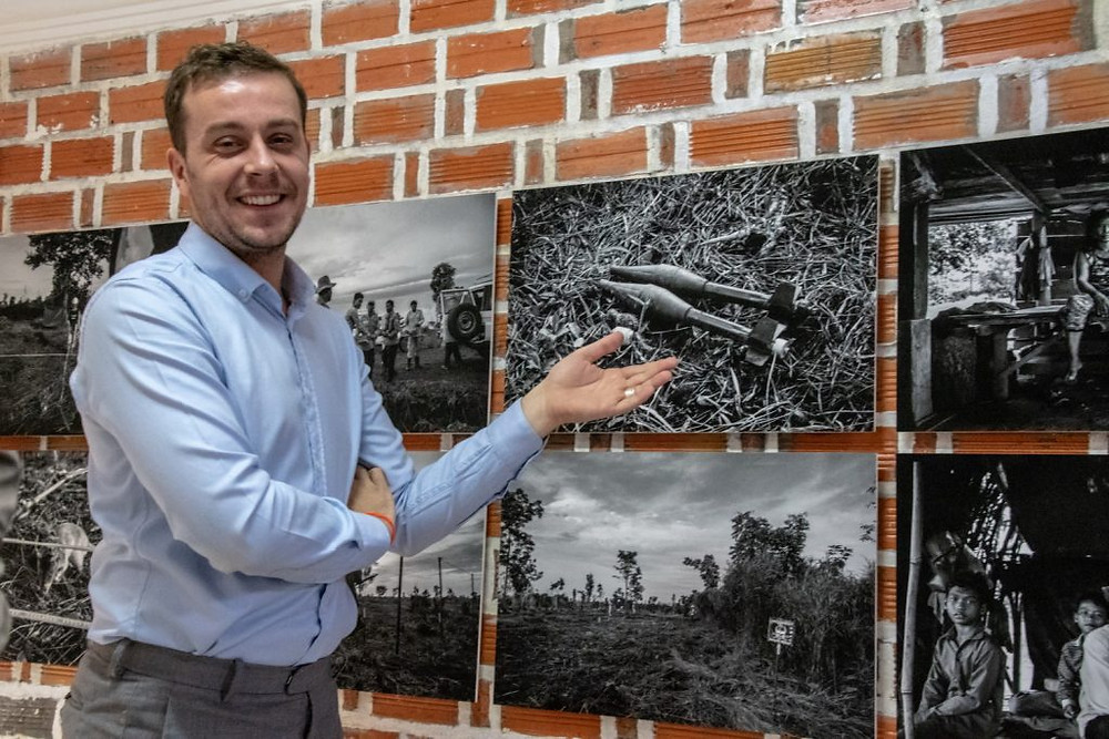 C'est lors d'une rencontre avec le photographe Roun Ry que Benjamin Carrichon (photo) entrevoit tout le potentiel d'un reportage sur le terrain