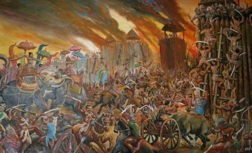 Bataille contre les Cham