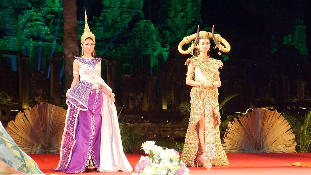 A Siem Reap, avril 2017, spectacle lors du CTM (Cambodia Travel Mart), évènement destiné à promouvoir la destination Cambodge