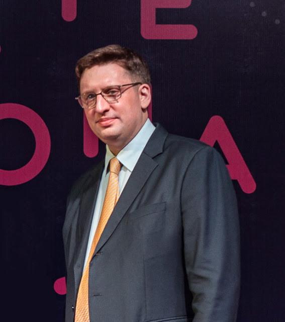 Guillaume Massin, Président sortant et réélu à la présidence de la CCIFC