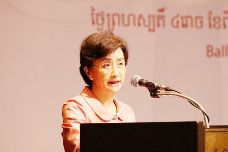 Mme Ing Kantha Phavi, ministre des Affaires féminines
